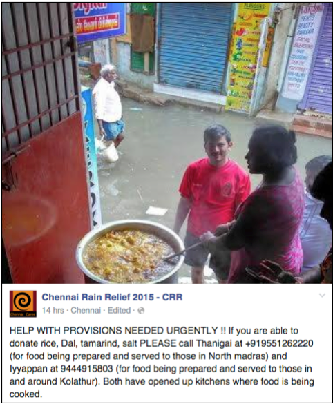 Chennai Flood : Chennai Rain Relief Appeal