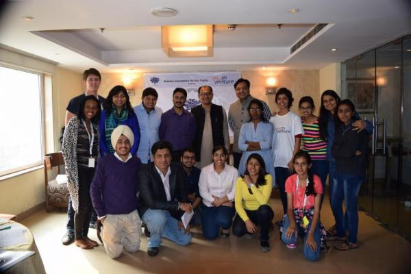 First cohort of Ashoka Youth Venturers (India)