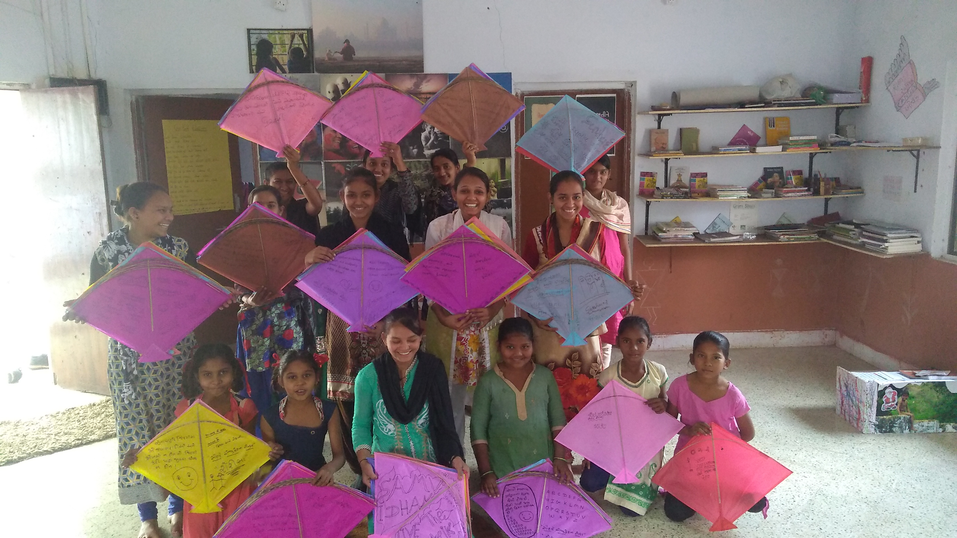 rural girls from Gujrat are living the constitution