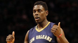 NBA player Jrue Holiday