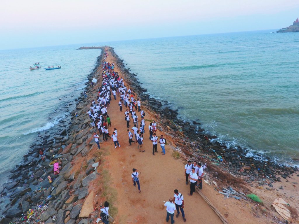 In Kanyakumari, the Southern tip of India | Image Courtesy : Leena Radjibaly