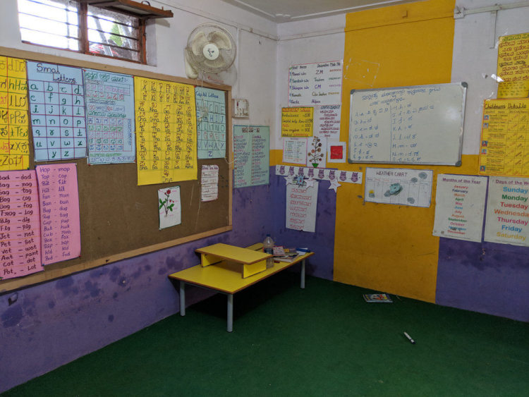 Child activity center at Savasuddi village | Picture courtesy: Milaap