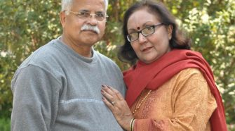Bhopal Gas Tragedy Survivor Aruna Ghosh and her husband