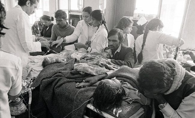 Bhopal Gas tragedy : File Photos