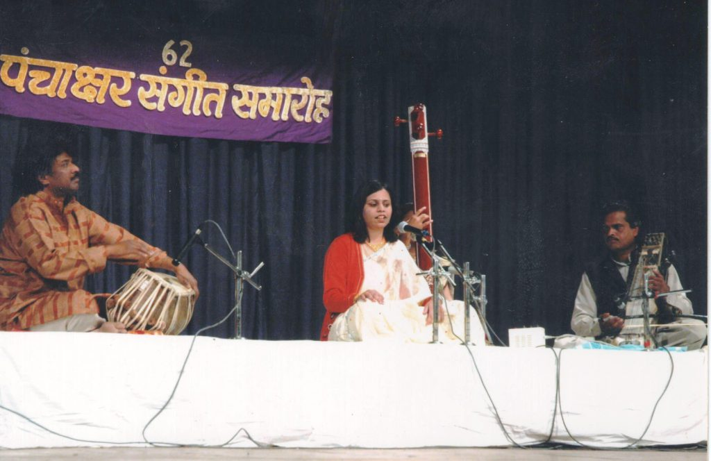 Mrs.Devyani Garg performing at Panchaksahar Sangeet Samaroh