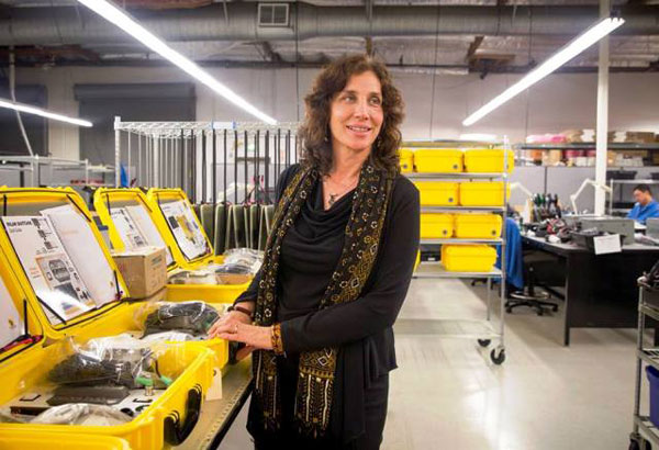 Dr. Laura Stachel, the inventor of Solar Suitcase