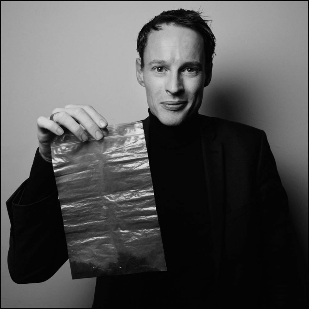 Daan Roosegaarde, the man behind the 'smog sucking' tower