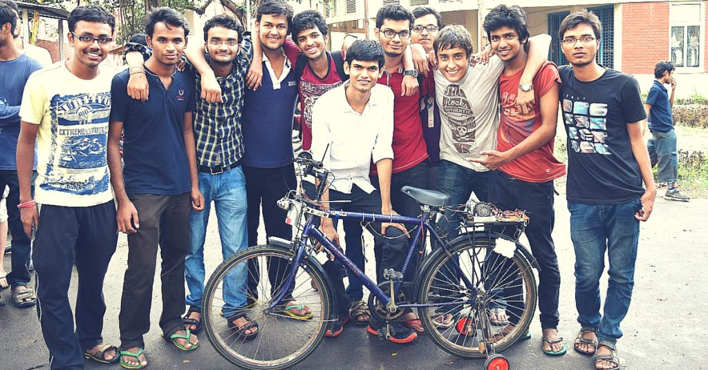 IIT Kharagpur students develop self driving bicycle 'iBike'