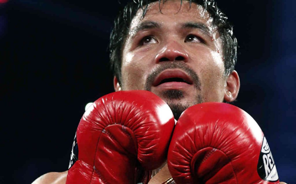 Manny Pacquiao, Boxing Champion and a senator in Philippines