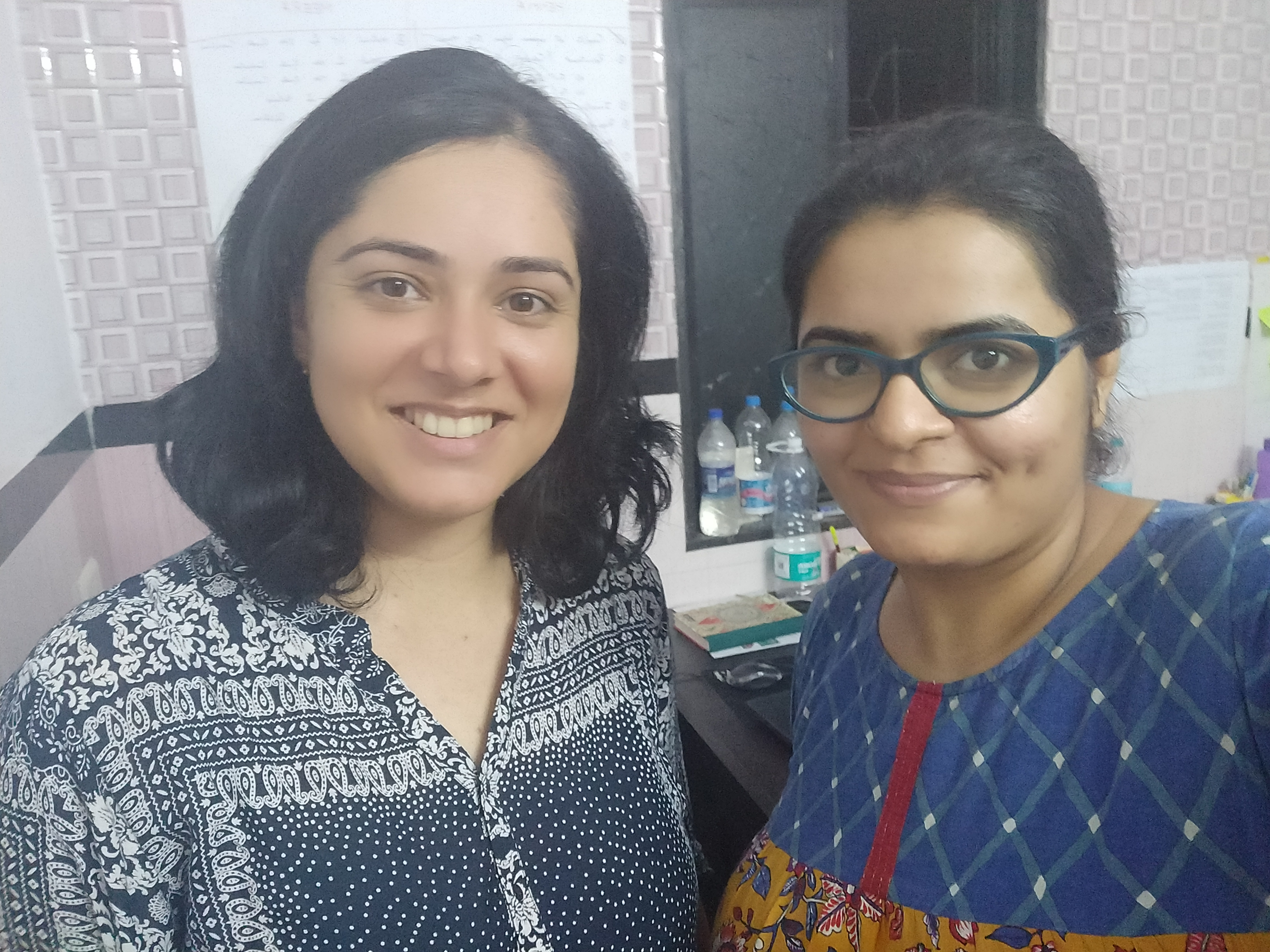 Henna Khan and Meera Rathod, co-founders of Universe Simplified | Image courtesy : Universe Simplified