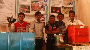 Rural children innovating technologies using local resources