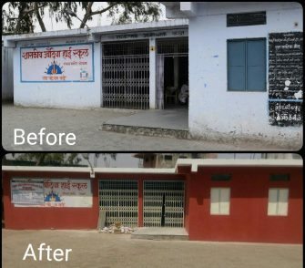 The transformation in rural schools due to the work of Muskaan Dreams