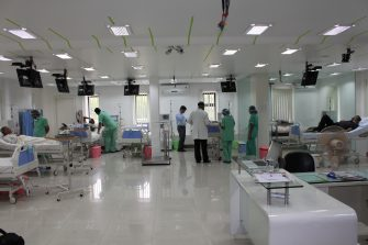The office of NephroPlus - An initiative by Kamal D Shah
