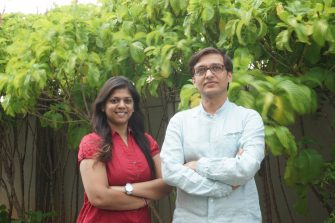 Ankita Garg and Amitabh Mehta: founders of Enthrall Labs