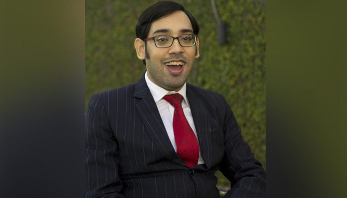 Sumit Agarwal - Founder, PR Signal, has set up his own firm to employ people while battling cerebral palsy