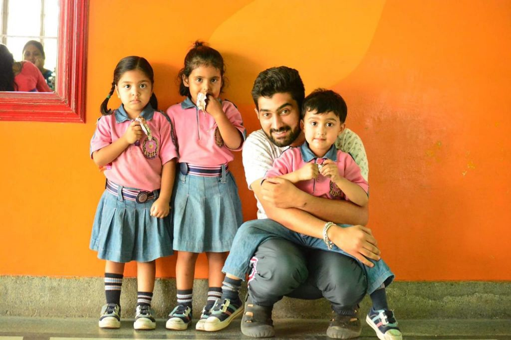 Jai Sharma, founder of the youth-driven organisation, Just Open Yourself (JOY), is fostering 100 children who have lost their parents due to Covid 19.