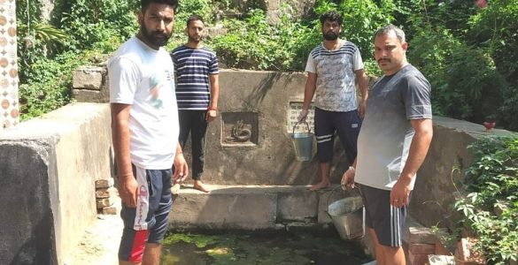 Locals in Udhampur, Jammu & Kashmir, revive 65 natural spring water sources within 4 months