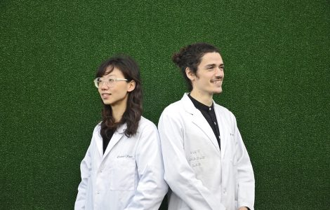 London-based startup is creating fabrics that suck out Carbon and breathe out Oxygen