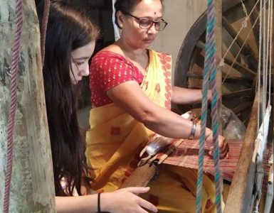 Rupjyoti Sakia Gogoi from Assam started Village Weaves, a community-based venture, an organization that is repurposing plastic to weave a story of women empowerment, wildlife conservation and environmental sustainability.