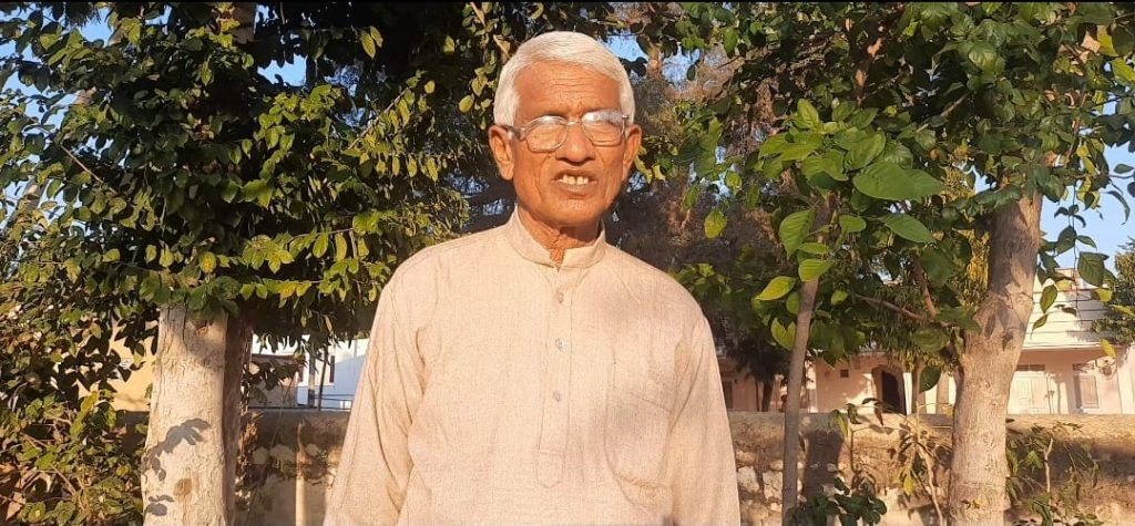 Sundaram Verma is a 69-year-old environmentalist who was awarded the Padma Shri by the Government of India last year.