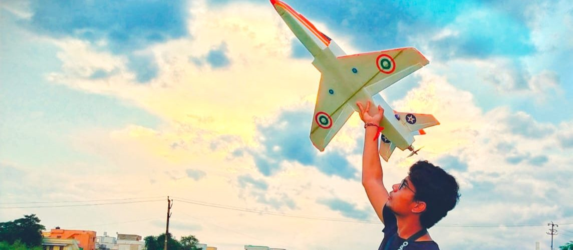 This boy failed 10th class five times but has built more than 40 remote-controlled planes.