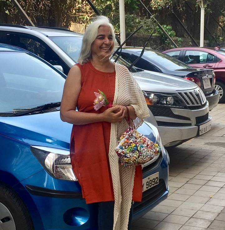 Rita Maker from Mumbai has been upcycling plastic bags into mats, bags, clutches, baskets and potholders.