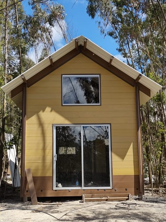 Cost-effective and sustainable houses made from coffee husks