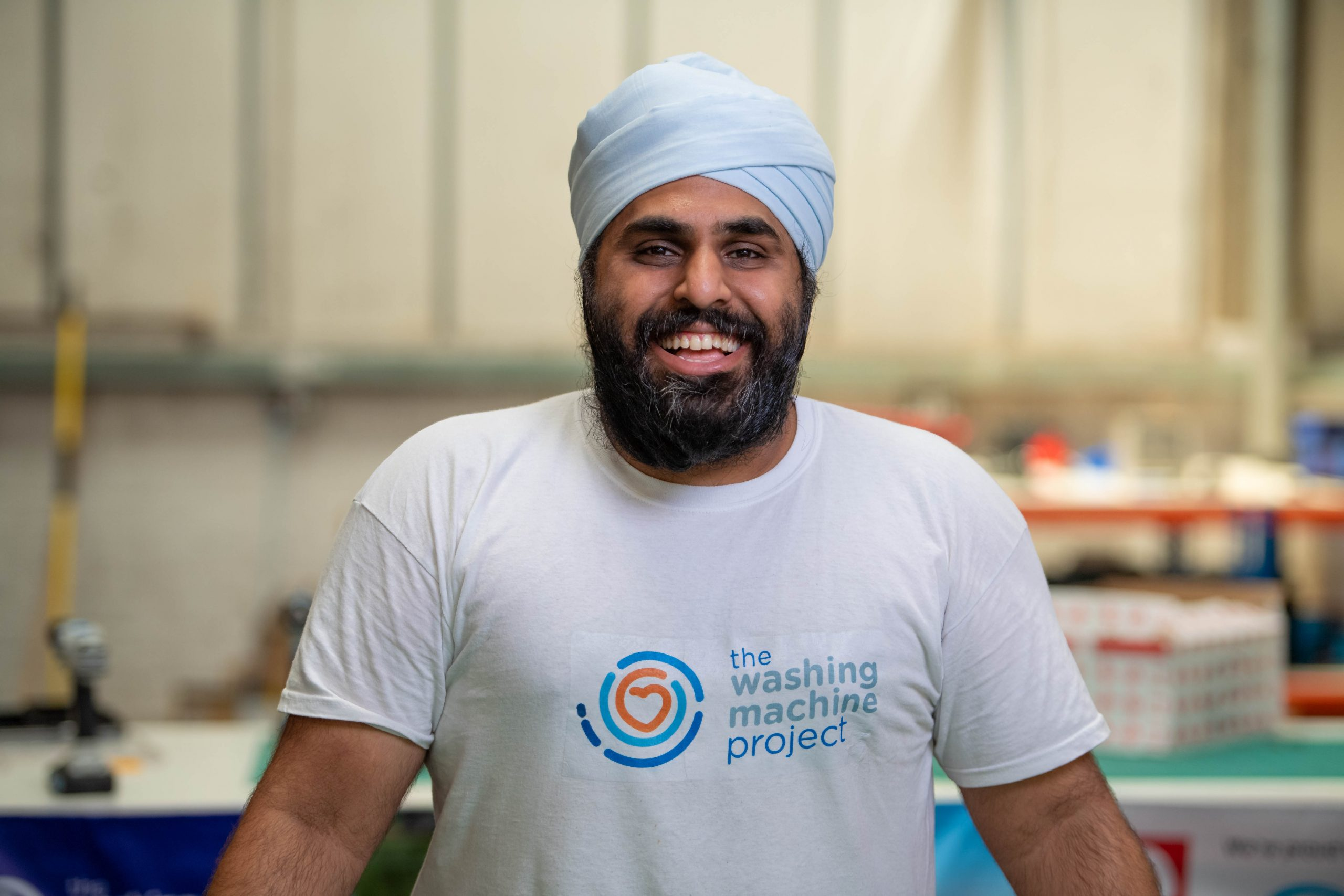 Navjot Sawhney, an engineer from London, created an off-the-grid washing machine for people in refugee camps and poorer regions of the world.