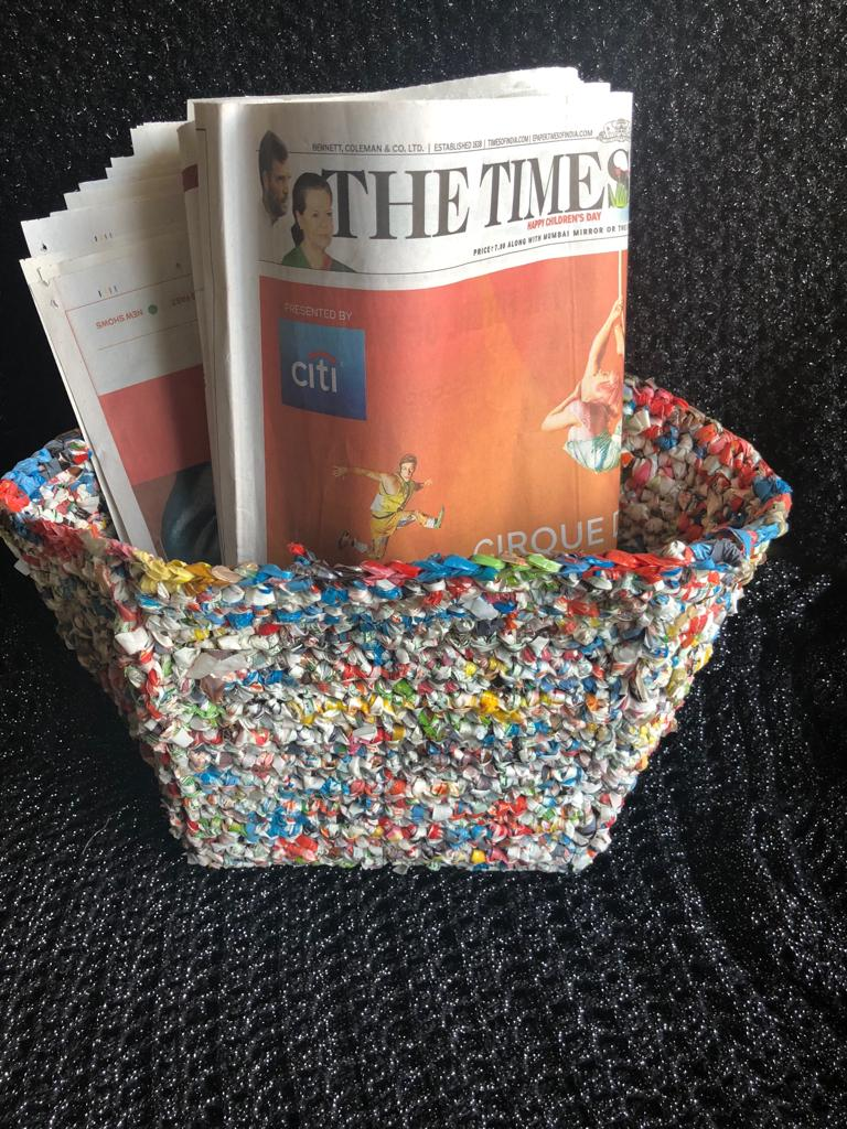 Rita runs a DIY Youtube Channel to inspire people to crochet plastic and do their bit in tackling the ever-growing problem of plastic.