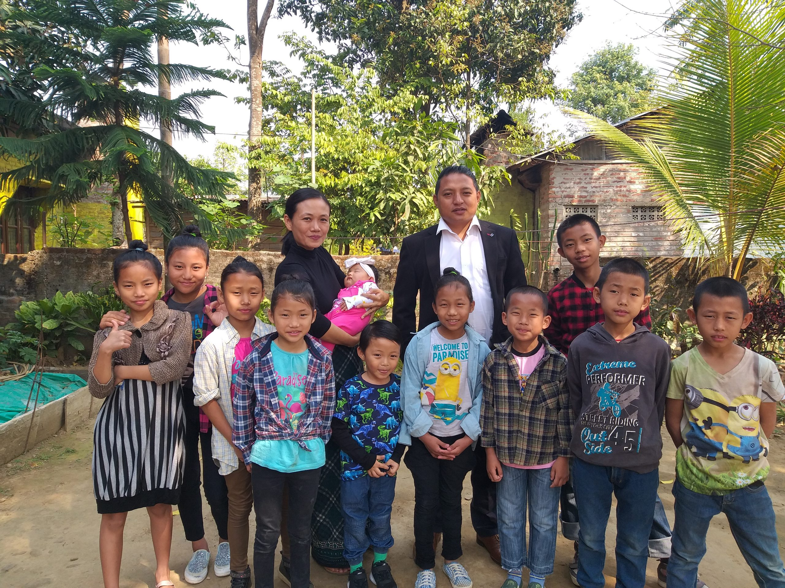 This young couple from Nagaland is parenting tribal children with extremely traumatic pasts