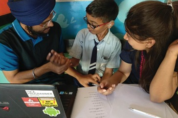 An engineer duo is making online education accessible to the hearing-impaired children